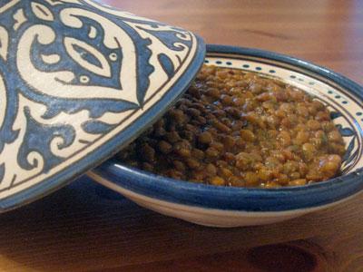 Easy Moroccan Lentils