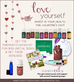 Young Living Essential Oils February Promo