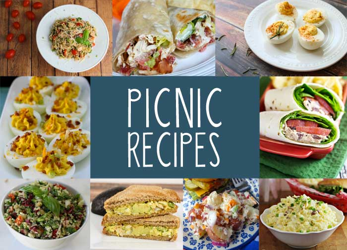 Picnic Food Ideas For Summer Fun on Beach Printables Pack