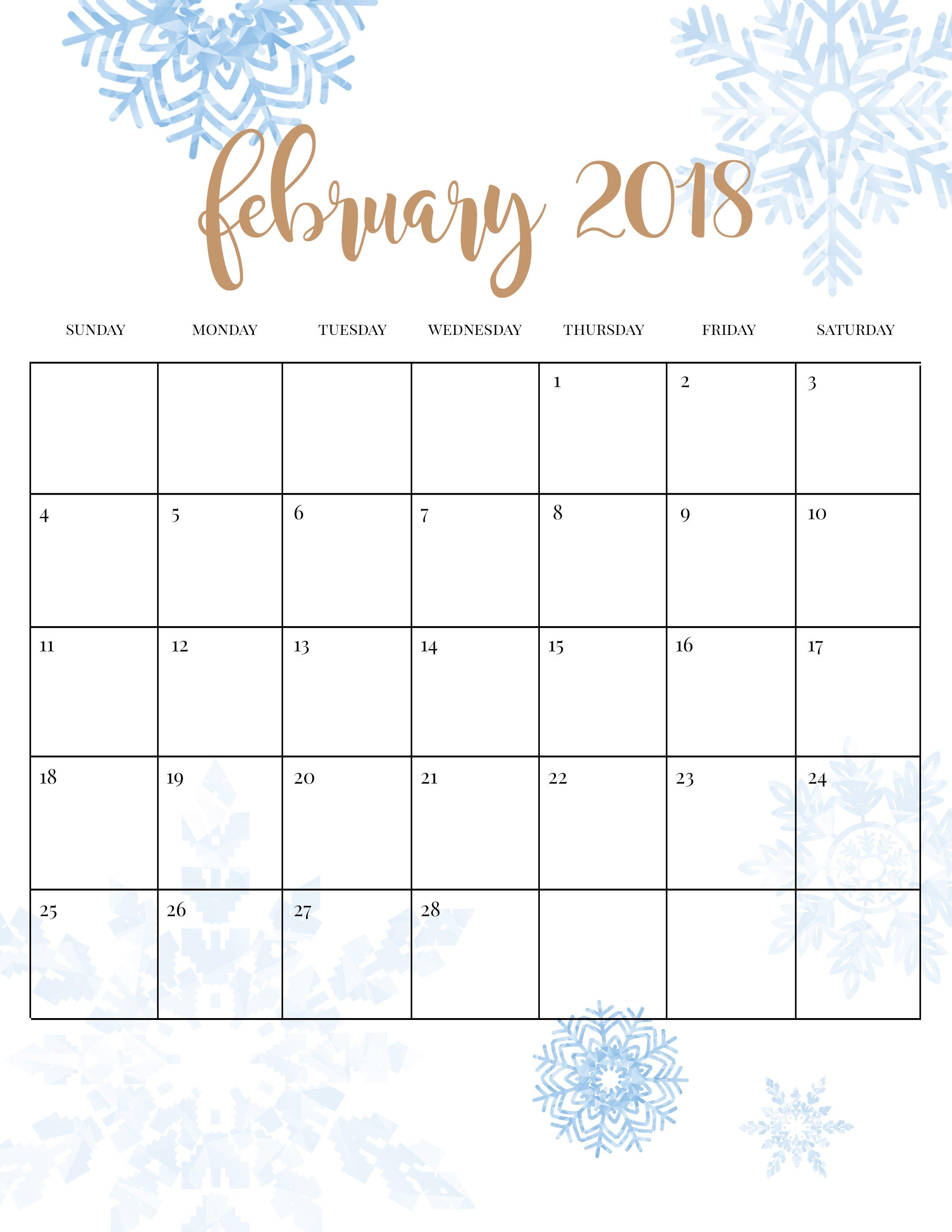 Calendar Spot May : Winter activities printable calendar five spot green living