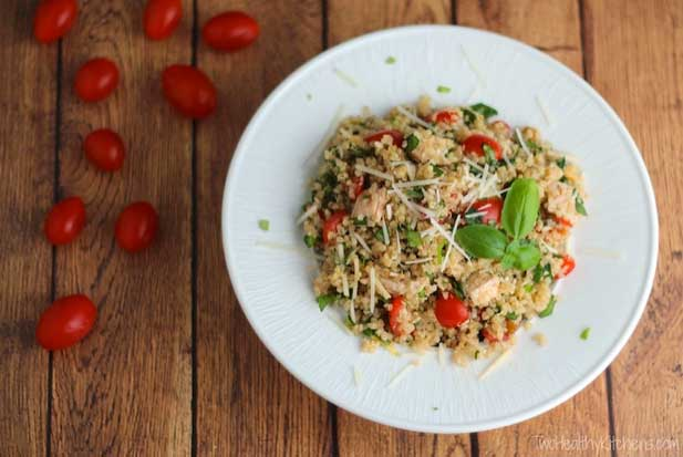 Picnic Food Ideas for Summer Fun - Quinoa Chicken Salad
