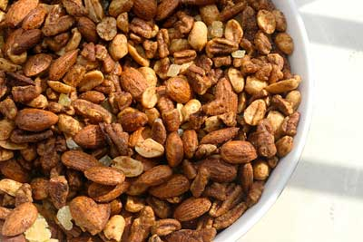 spiced-nuts Make Ahead Healthy Appetizers