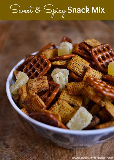sweet-and-spicy-snack-mix Make Ahead Healthy Appetizers