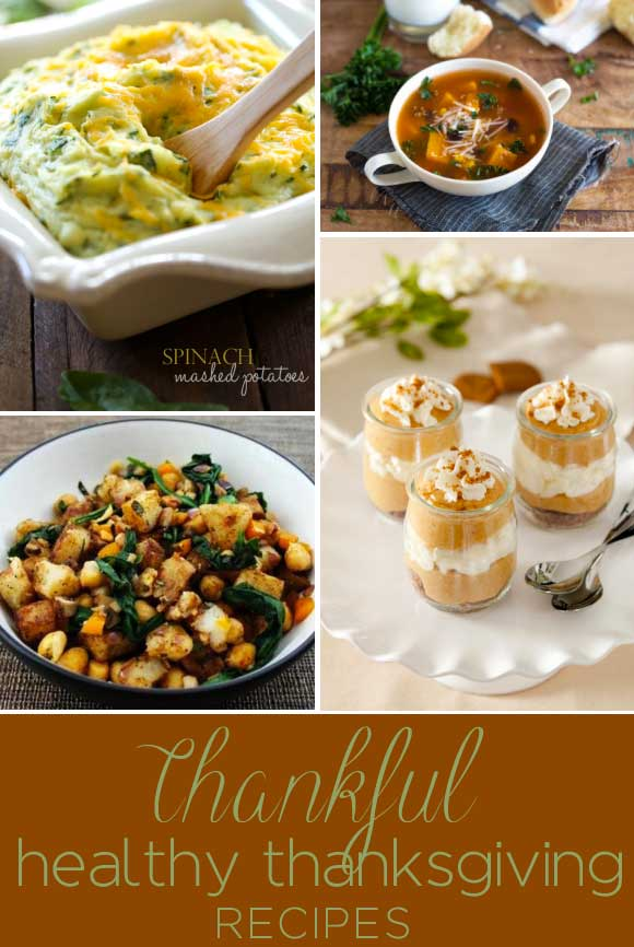 Thankful for Healthy Thanksgiving Recipes