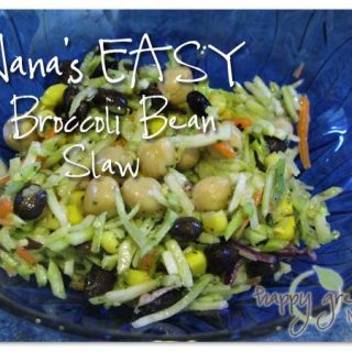 Chickpea Broccoli Slaw Salad Recipe