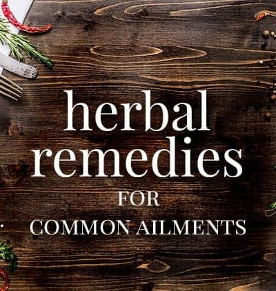 Herbal Medicine for Common Ailments