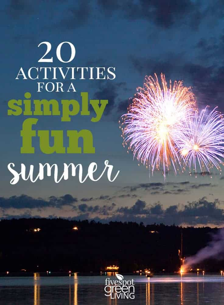 20 summer activities for kids