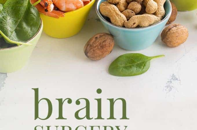 brain surgery recovery diet