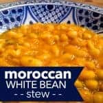 Loubia – Moroccan White Beans