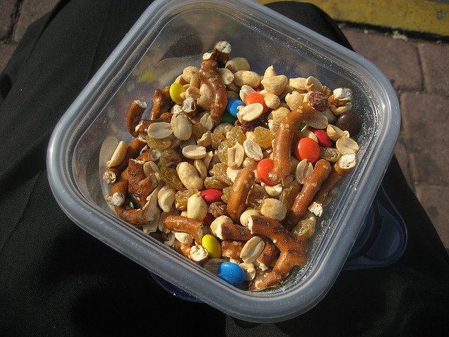 trail mix snack