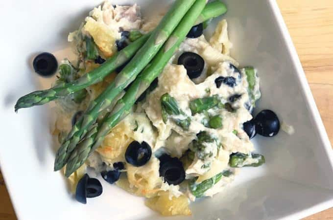 asparagus and tuna casserole