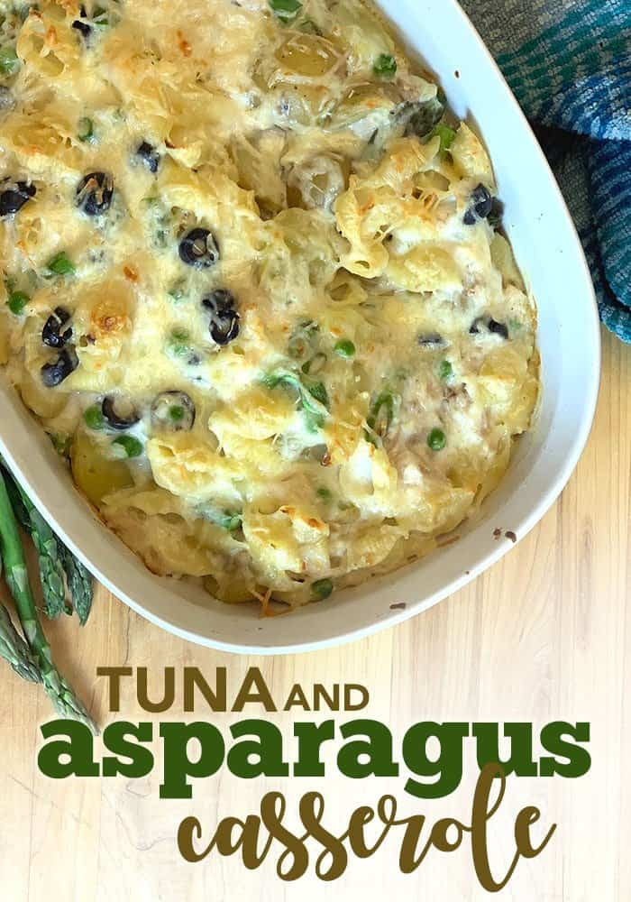tuna and asparagus casserole recipe