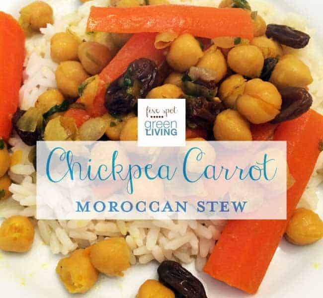chickpea carrot moroccan stew