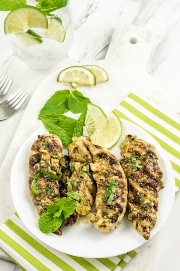 Grilled-Mojito-BBQ-Chicken-Tenders-Post4 10 Healthy Light Summer Meals