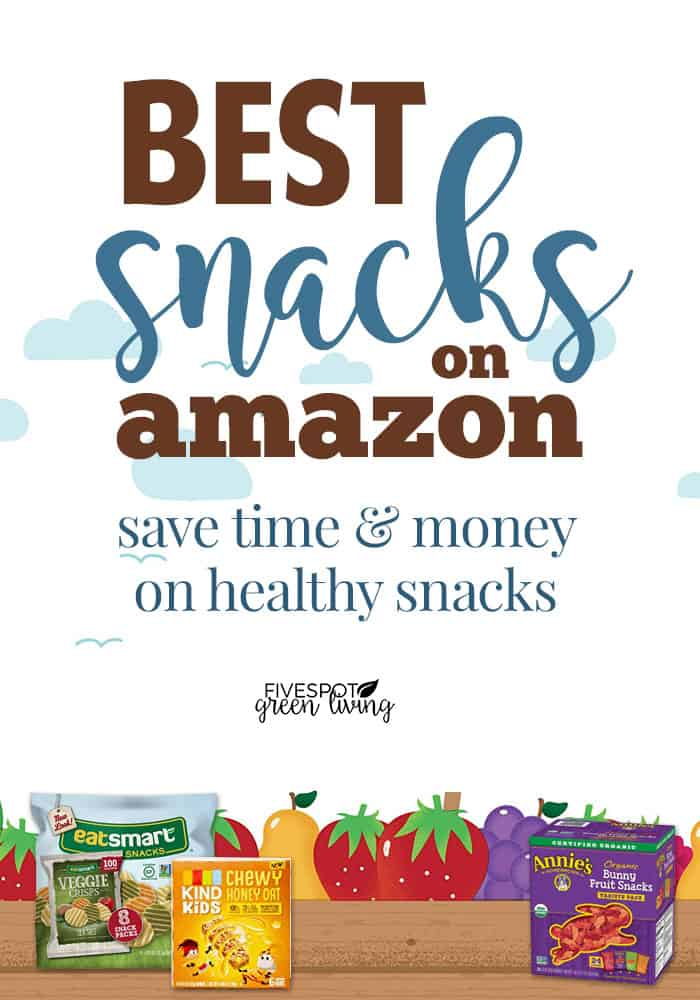 good healthy snacks for kids at amazon