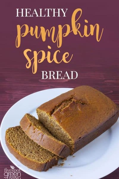 pumpkin spice homemade bread