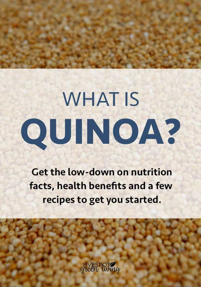 what is quinoa and what are the nutrition facts?