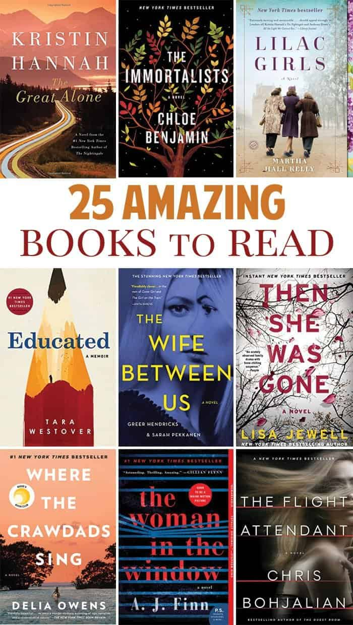 25 best books to read