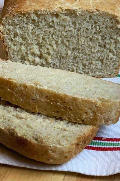 oatmeal homemade bread