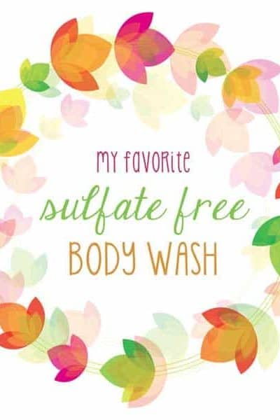 sulfate free body wash