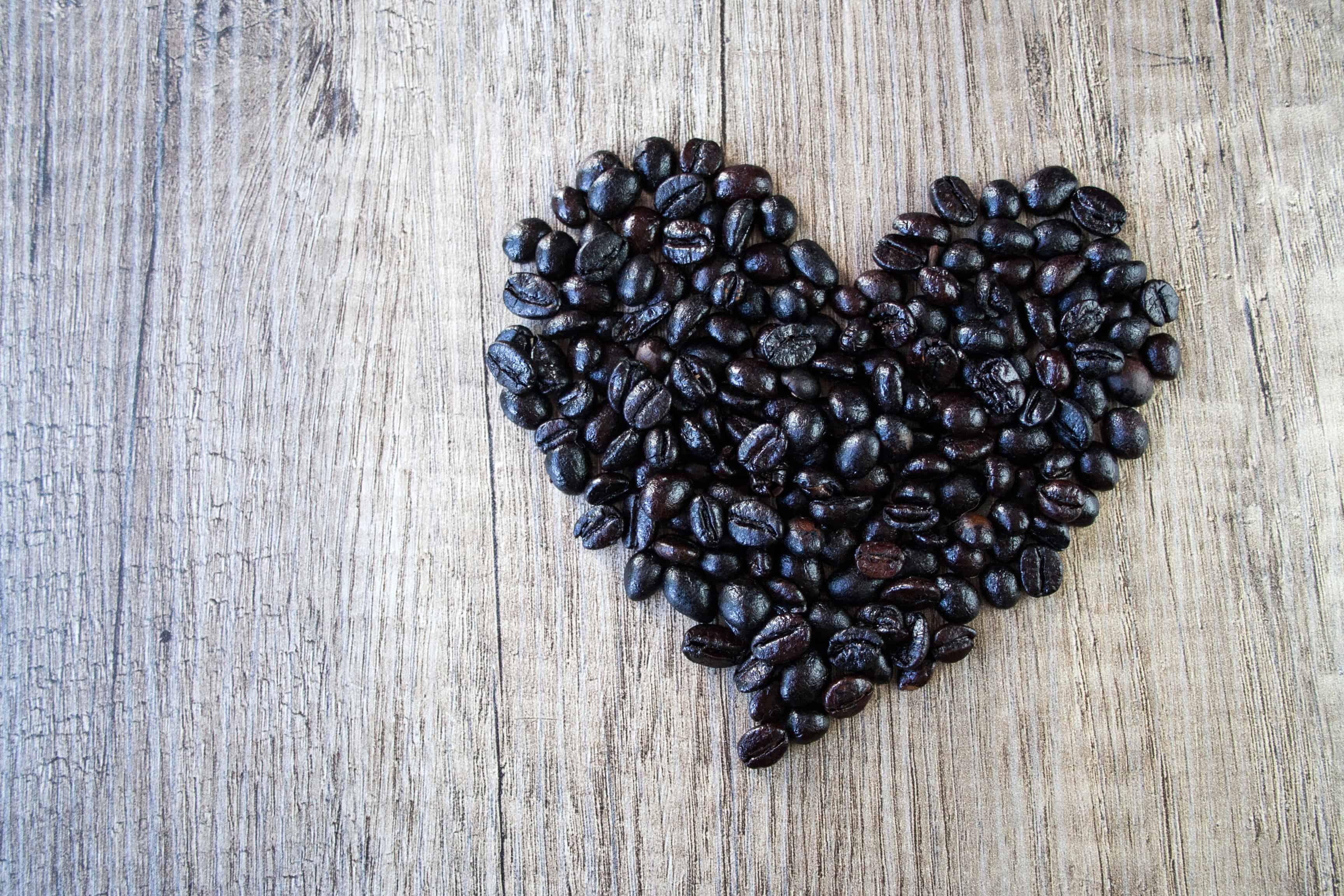 black-beans-in-a-heart-shape Vegetarian Black Bean Enchilada Casserole