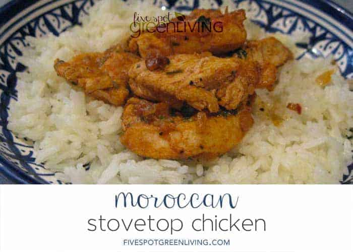 Authentic moroccan chicken recipe with rice five spot for Authentic moroccan cuisine