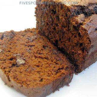 Homemade Chocolate Chip Zucchini Bread