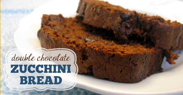 homemade chocolate chip zucchini bread