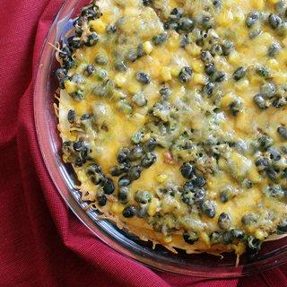Vegetarian Black Bean Enchilada Casserole
