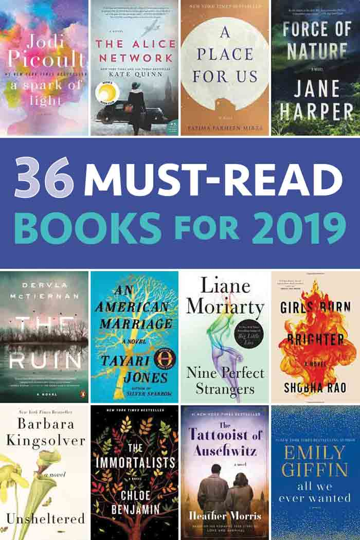 36 good books to read in 2019