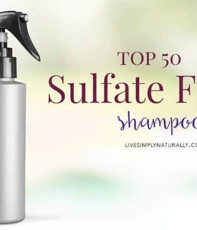 sulfate free shampoo list