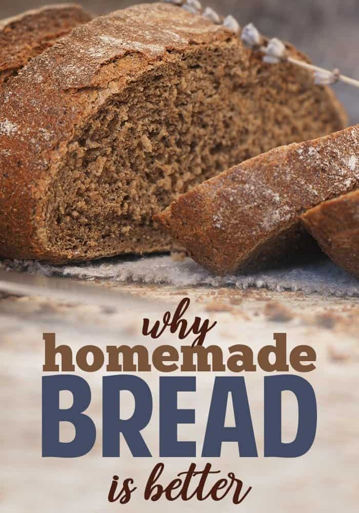Is homemade bread healthier?