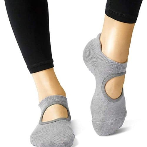 LA Active Yoga Grip Socks