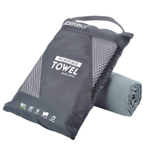rainleaf packable towel