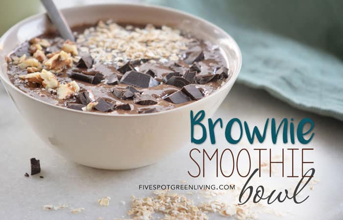 Healthy Brownie Smoothie Bowl Recipe