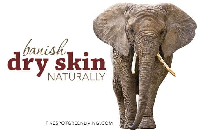 natural ways to get rid of dry skin