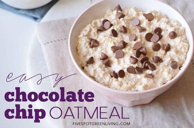 chocolate chip oatmeal