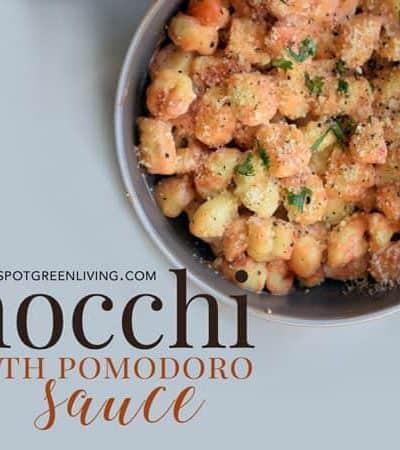 gnocchi recipe with pomodoro sauce