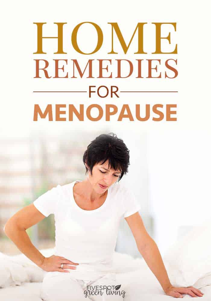 natural home remedies for menopause