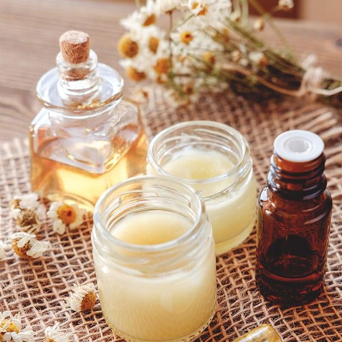 tea tree oil lip balm