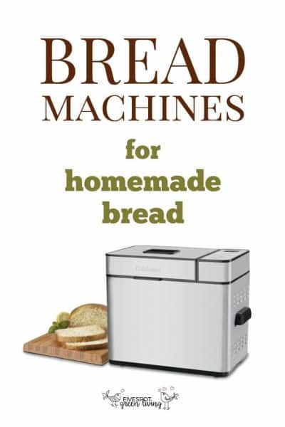 best bread machines for homemade bread