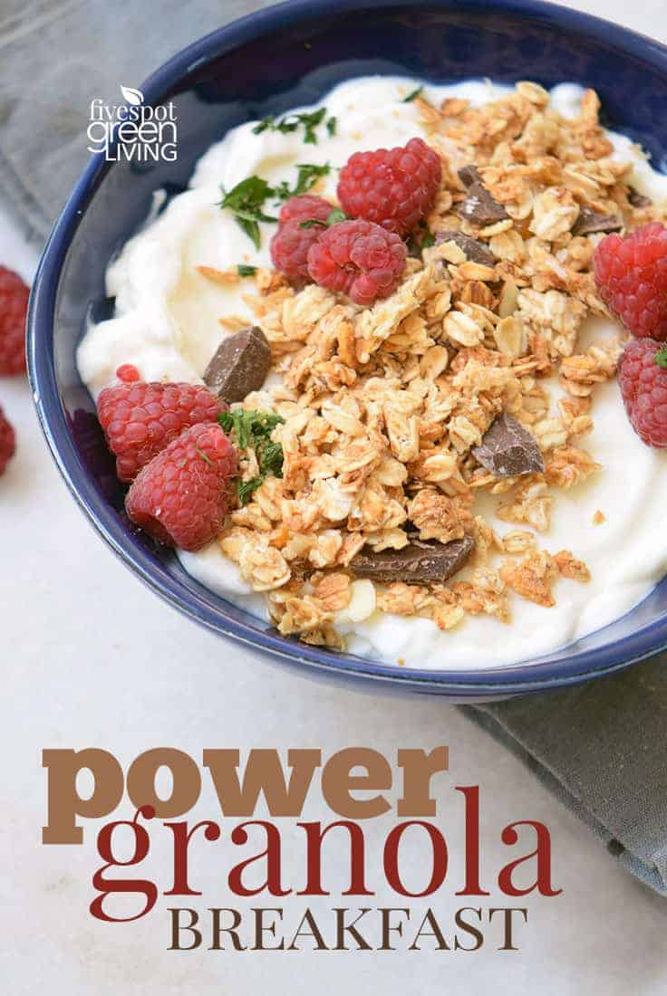 power granola breakfast