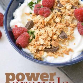 power granola breakfast