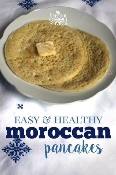 homemade moroccan pancakes