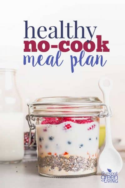 no cook meal plan
