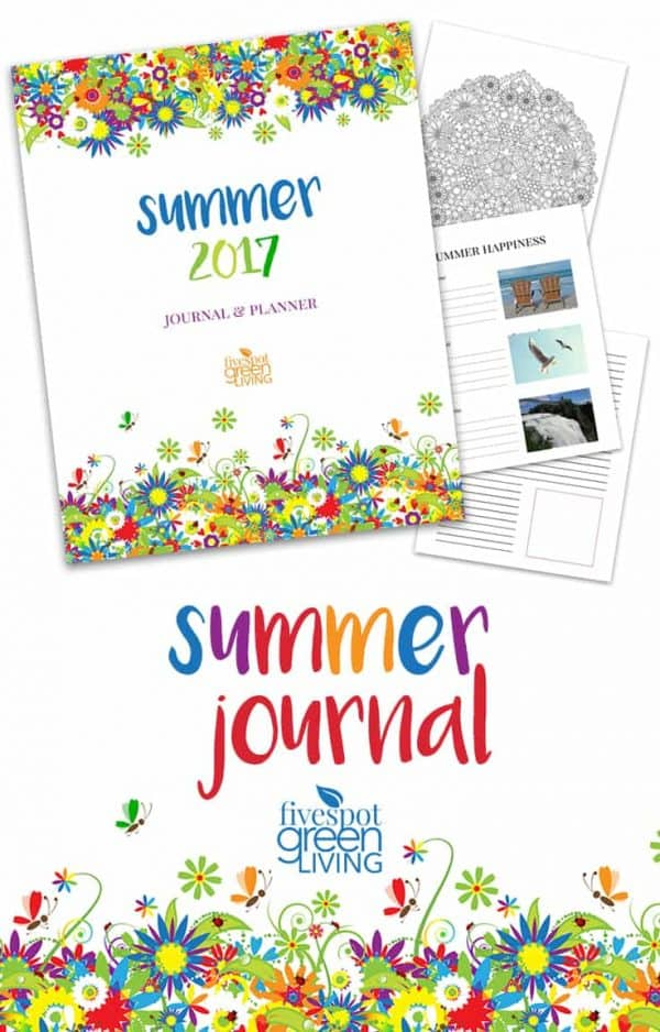 summer journal kit