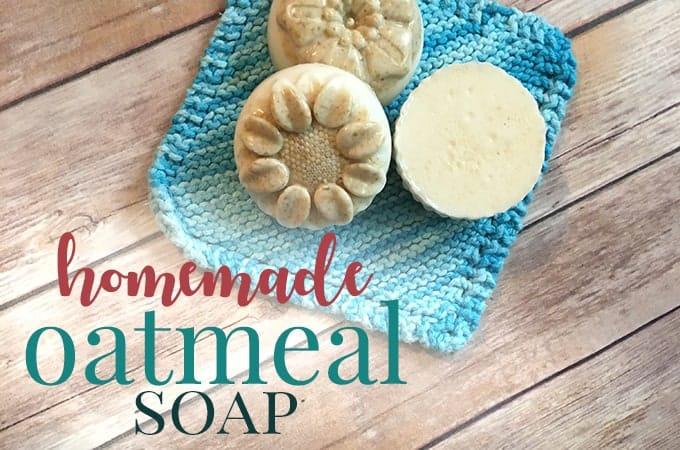 homemade oatmeal soap