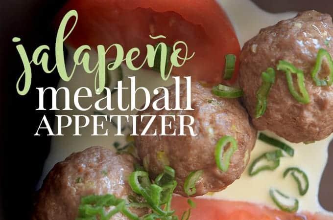 jalapeno meatball appetizer recipe