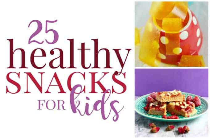 kids healthy snack ideas