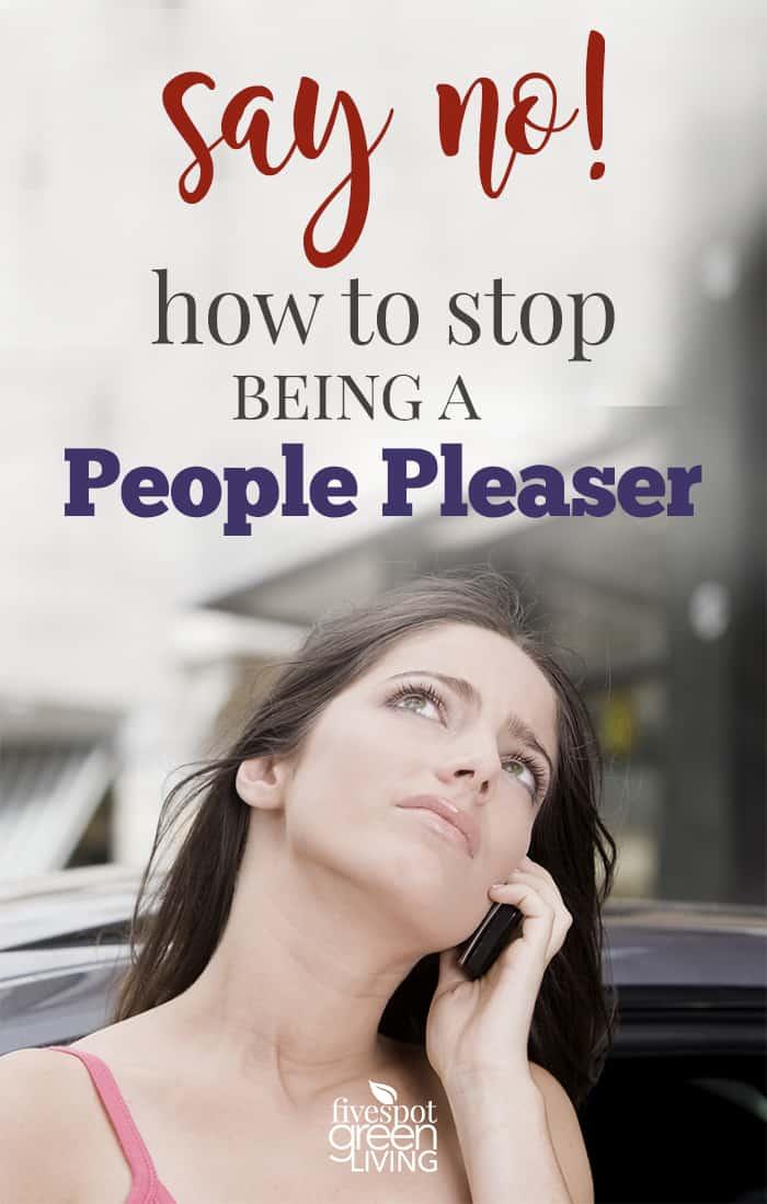 stop being people pleaser